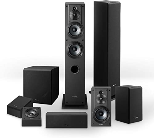 Sony CS-Series'speakers bundle SSCS3 Floor-Standing Speaker 2