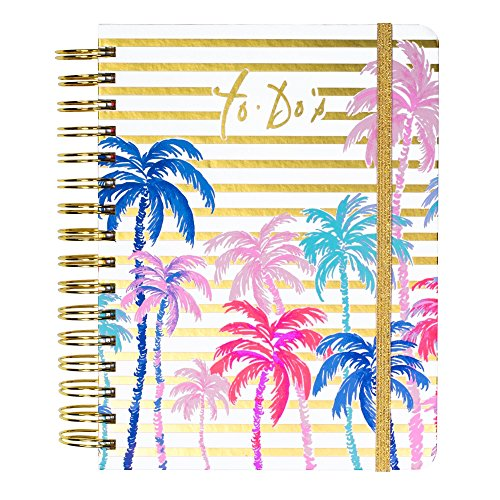 Lilly Pulitzer Women's Hardcover Undated to Do Planner, 6.5
