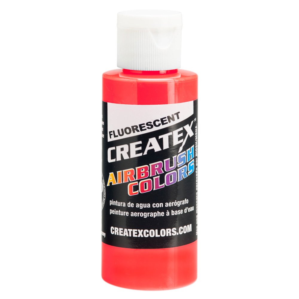 1 Gal. of Createx Fluorescent Red #5408-GL CREATEX AIRBRUSH COLORS Hobby Craft Art PAINT by Createx