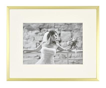 Amazon.com - Frametory, Metal Picture Frame Collection, Aluminum ...