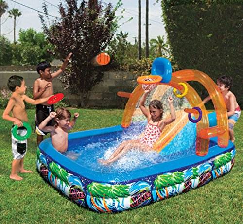 inflatable-water-slide-outdoor-pool-kids-fun-backyard-play-toys-summer-park-new