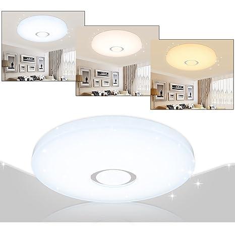 VGO® 16W plafón LED Color regulable para el comedor Lámpara de ...