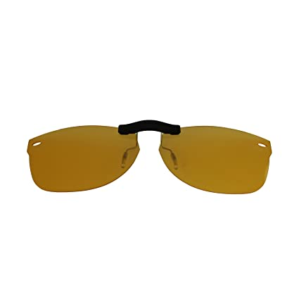 074f5d14393 Custom Polarized Clip On Sunglasses for Ray-Ban RB5184 (RX5184) 50-18-145(No  Frame) night vision Yellow - - Amazon.com