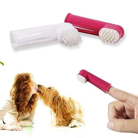 Cepillo de dientes para perros, kit de limpieza de dientes para gatos y perros, ...