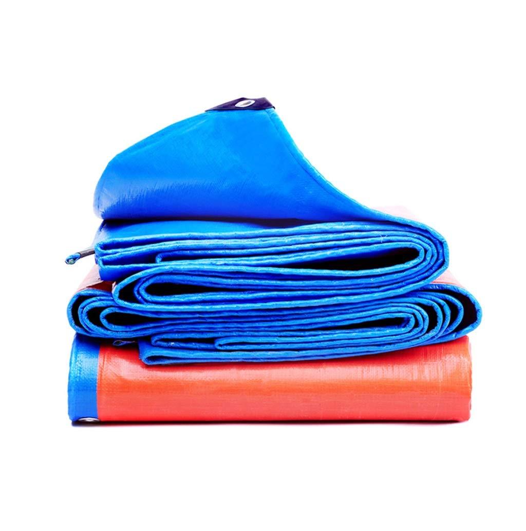 防水ポンチョ、高密度編みポリエチレンターポリン、100%防水、UV耐性 (サイズ さいず : 15 * 16m)  15*16m