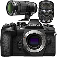 Olympus OM-D E-M1 Mark II Mirrorless Micro Four Thirds Digital Camera with M.Zuiko Digital ED 12-40mm f/2.8 PRO Lens + M.Zuiko Digital ED 40-150mm f/2.8 PRO Lens Bundle