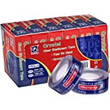 """Perfectape Transparent Tape, Clear, 3/4"""" x 1024 inches (19mm x 26m), 6-Pack, Refill Rolls for Perfectape Dispenser Only"""