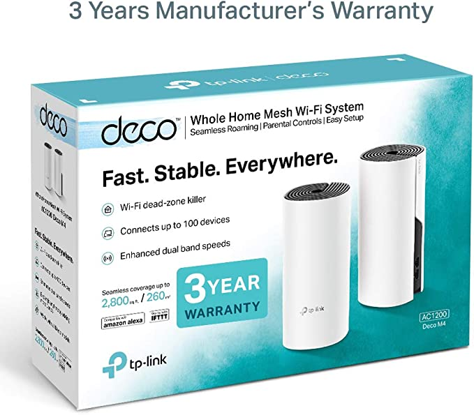 Tp Link Deco M4 2 Pack Wireless Router Dual Band Computers Accessories