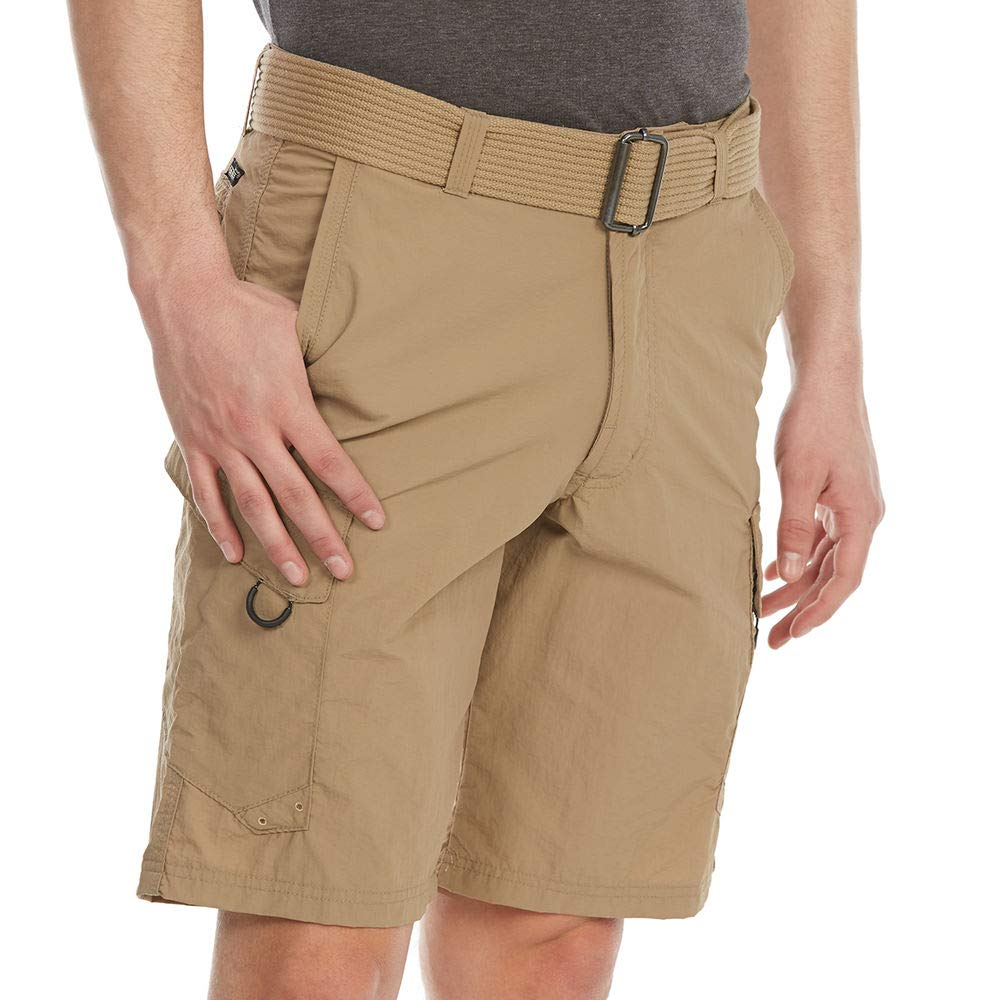 Burnside Men's Outdoor Adventure Nylon Cargo Short