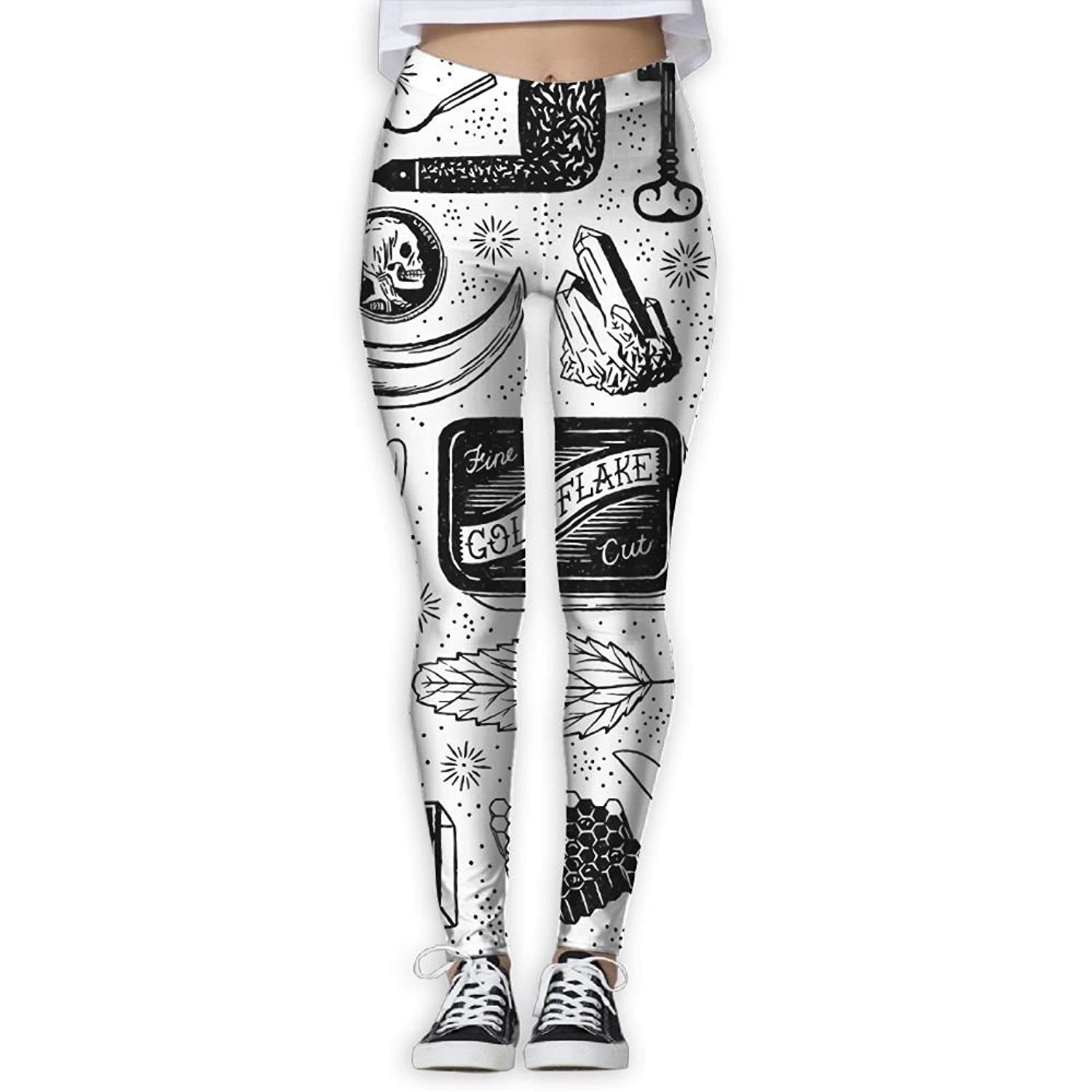 Doppyee New Explorers Stuff Printing Design Compression Leggings Pants Tights For Women S-XL for sale