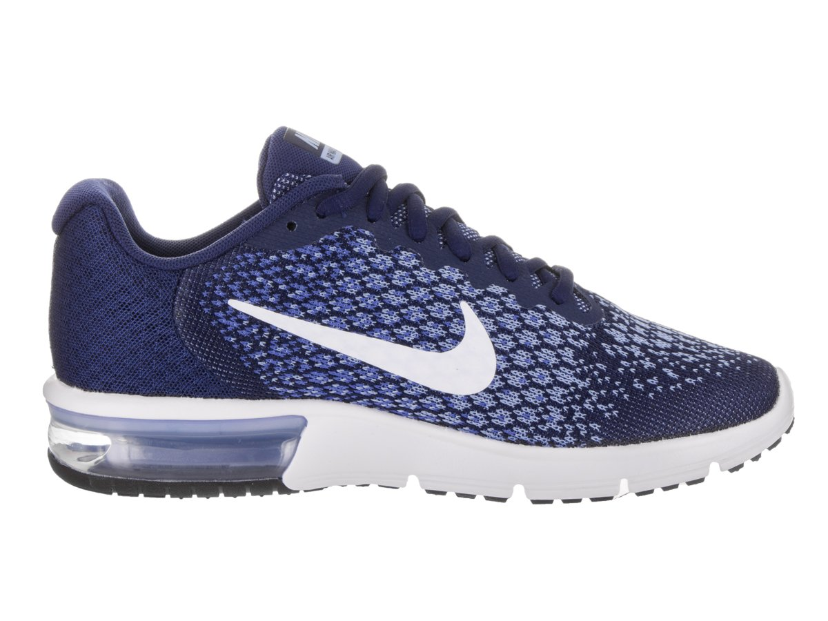 NIKE Men's Air Max Sequent 2 Running Shoe B00O6HJOQE 6.5 B(M) US|Binary Blue/White/Comet Blue/Aluminum