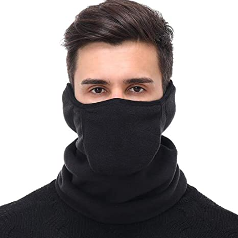Neck Warmer Face Mask Winter Gaiter for Cold Weather Men Women Motorcycling