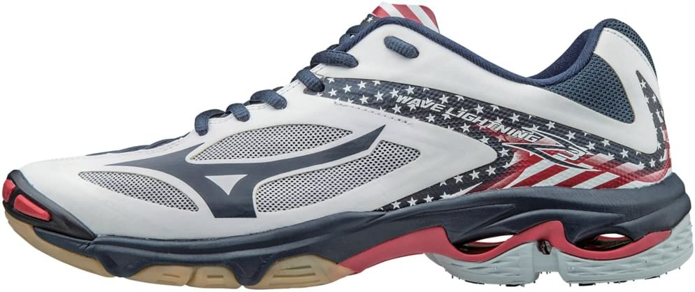 mizuno womens volleyball shoes size 8 x 3 fit travel lady