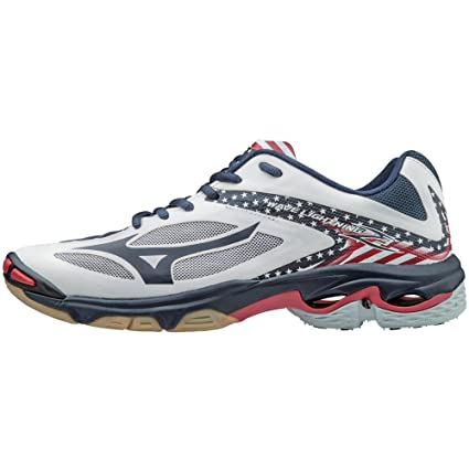 984b8a4ccc50 Mizuno Wave Lightning Z3 Women's Volleyball Shoes - Stars & Stripes (Women's  Size ...