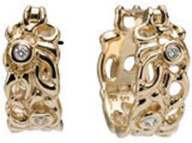 Pandora - Orecchini pendenti da donna, oro giallo 14k (585), cod ...