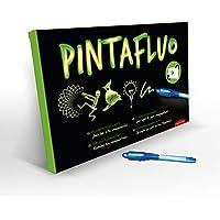 JUEGACONMIGO Pintafluo, toverbord voor kinderen. Met licht tekenen. Dubbelzijdig en dubbele dikte. Bevat 2 pennen en 10…