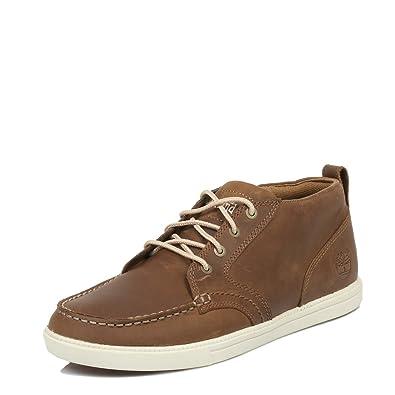 Timberland Zapatos de Cordones de Cuero para Hombre Light