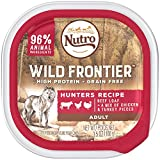 Wild Frontier Vital Prey Wet Dog Food Beef Loaf With Chicken Cuts, (24) 3.5 Oz. Trays For Sale