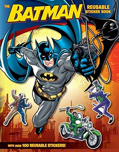 Batman Classic: The Batman Reusable Sticker Book - Man Sticker Book
