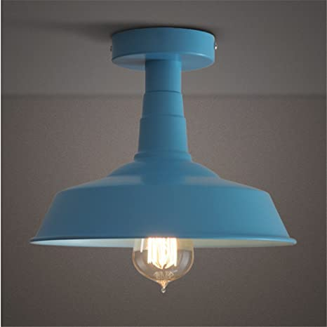 MEIHOME Lámpara de techo Habitación niños circular cubierta ...