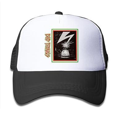1d51eb11751 Kid s Hats BADBRAINS Dr Know Hardcore Punk Band Mind Power Sun Hat Small  Kids Cap