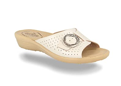 4c02f8c4ecd2 Fly Flot T4A57 Slippers Slippers Skin Woman Wellness Comfort White ...