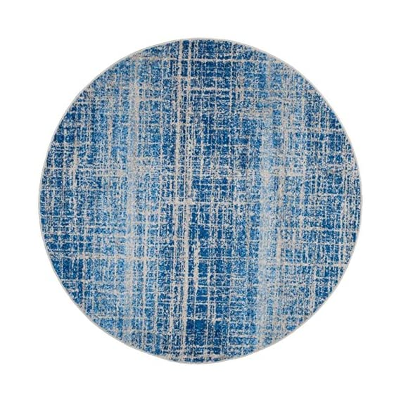 Safavieh Adirondack Collection ADR116A Silver Black Modern Abstract Distressed Runner - Choose from available sizes and shapes Choose from available colors Easy-care polypropylene material - living-room-soft-furnishings, living-room, area-rugs - 61tAlio9eZL. SS570  -