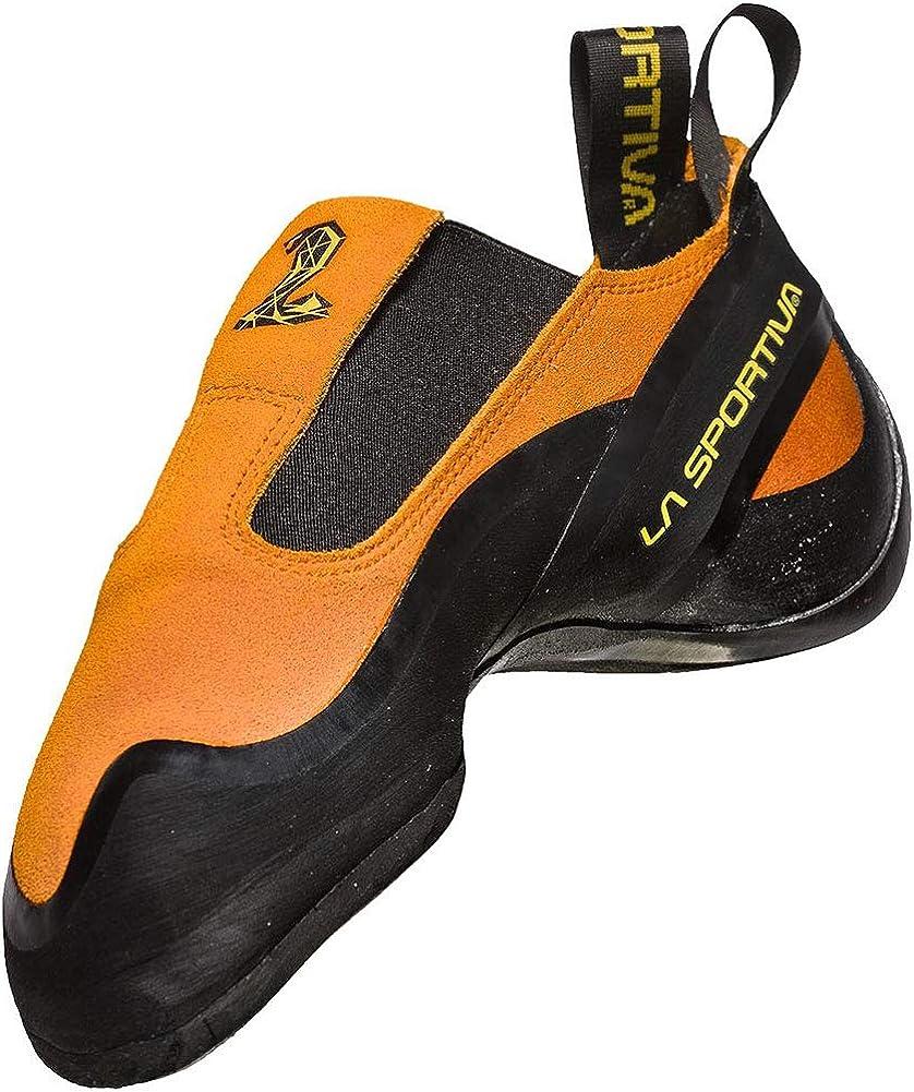 La Sportiva Cobra Orange Zapatos de Escalada Unisex ni/ños