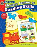 Full-Color Literacy Centers for Reading Skills, Dede Dodds, 0743937023