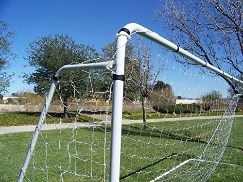 PASS 21 X 7 X 5 Ft Official Youth Modified Size. Heavy Duty Steel Soccer Goal w/ Net. Regulation Youth Modified FIFA/MLS League Size Goals. Professional Practice Training Aid. 21 X 7, 21x7 Soccer Goal