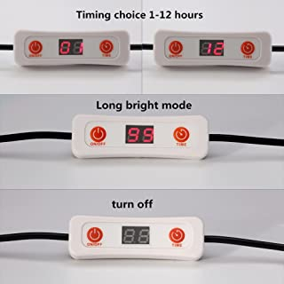 Ocamo DC Male & Female Head Connecting Line Timer with LED Display Timing Switch