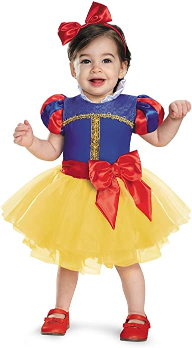 Disguise Baby Girls Snow White Prestige Infant Costume: Amazon.es ...