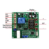 B Blesiya (Working DC12V) 0-50A AC Current Sensor