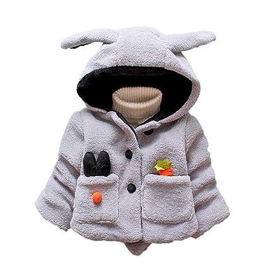 Amlaiworld Abrigo Bebe niña Chaqueta de Invierno Bebe Niña Niño cálido Abrigo de Ropa Bebe Niña