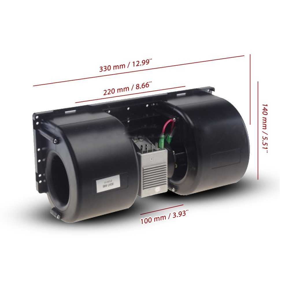 Blower Motor A/C 24 Volt 3 Speed With Resistor Med Performan BM-7406-24VC, BH 1506-24VC GLOBAL AIR