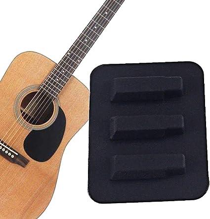 Sguan-wu Silenciador de guitarra acústica clásica Silenciador de ...