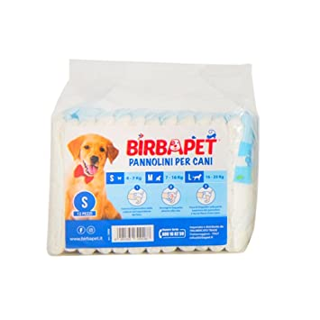 birbapet Super Absorbent Nappies for Dogs - Super Absorbent with