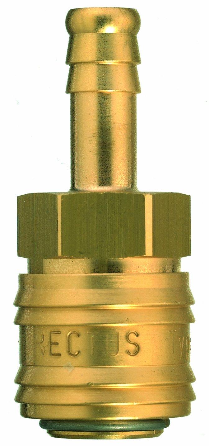 Rectus Druckluft-Verbindungsstü ck (mit Schlauchanschluss von 9 mm)
