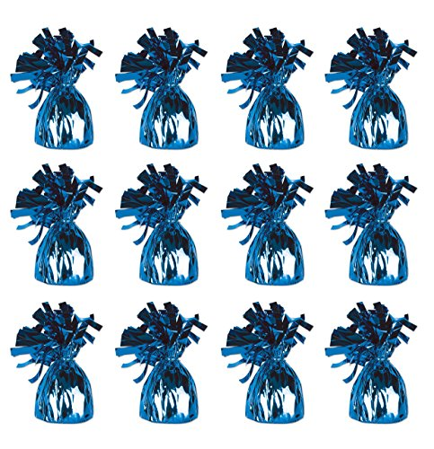 Beistle 50804-B Metallic Wrapped Balloon Weights, Pack of 12 for $<!--$13.08-->