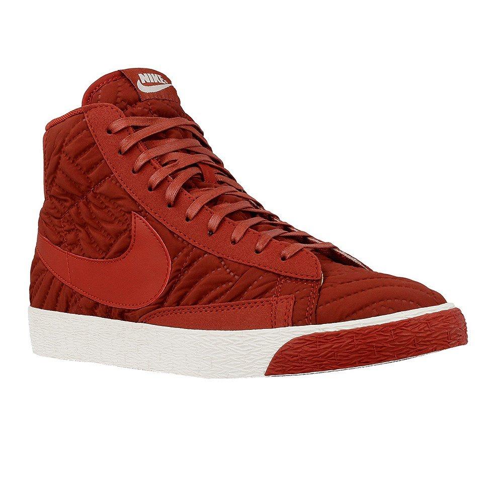 Nike Wmns Blazer Mid PRM SE - 857664600 - Color Red - Size: 6.0