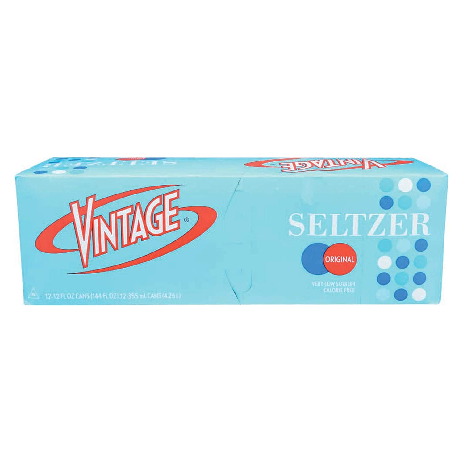 Amazon.com : Vintage Seltzer, Water Seltzer Plain, 12 Ounce, 12 Pack :  Mineral Water : Grocery & Gourmet Food