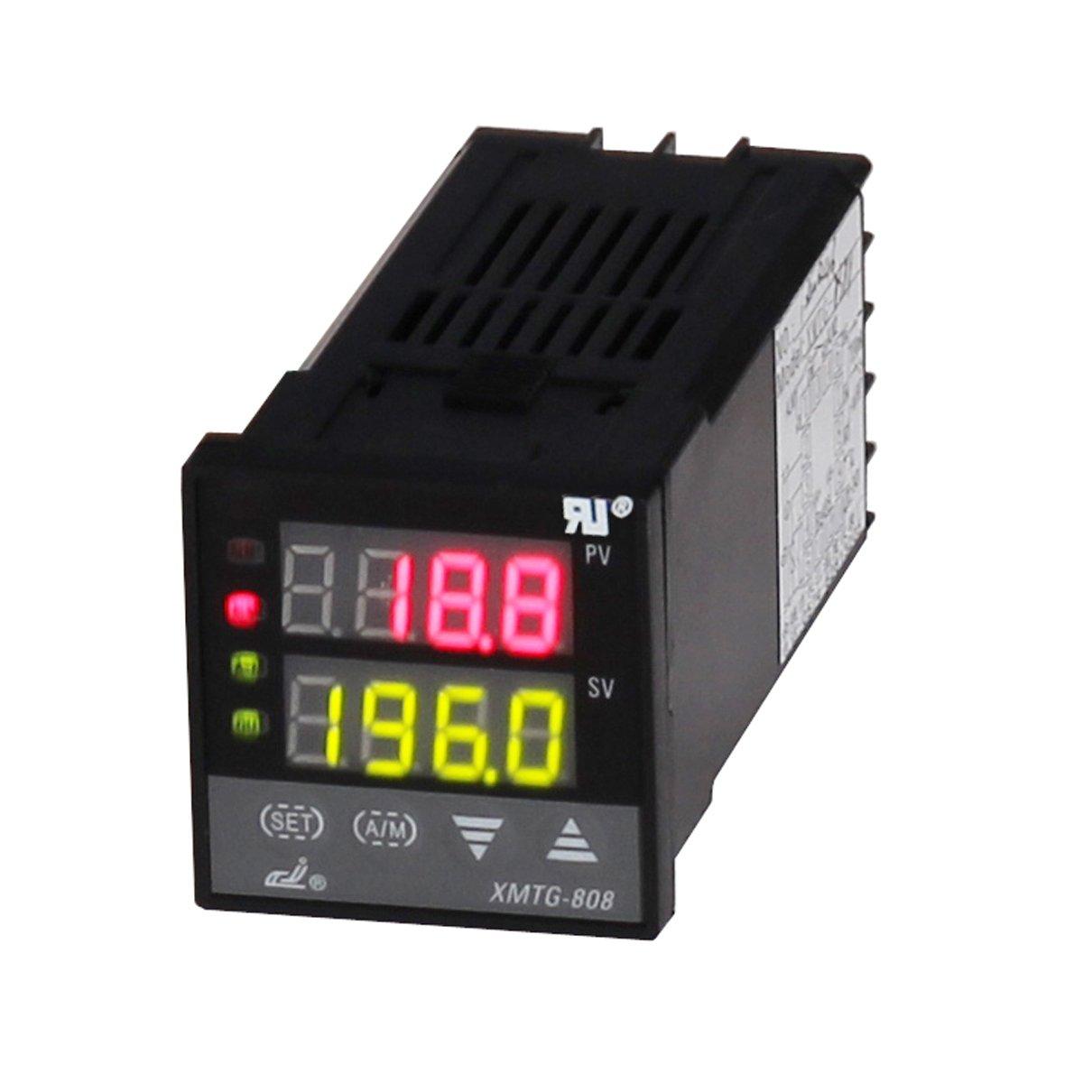 xmtg-808 Inteligencia PID Control de temperatura con Multi Purpose entrada: Amazon.es: Bricolaje y herramientas