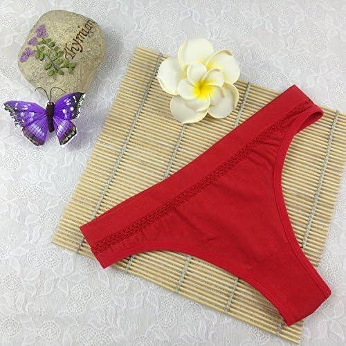 AOYOMO Women Seamless Underwear Briefs G-String Thong T-Back Panty