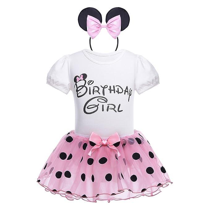sale retailer f3430 0b650 iEFiEL Babykleider Kostüm - Baby Mädchen Kleidung Set Kurzarm-Body  Baumwolle Strampler im Kleid Look