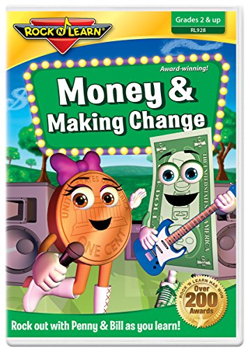 Money & Making Change DVD by Rock 'N Learn