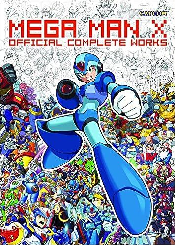 mega man x official complete works capcom 9781897376805 amazon