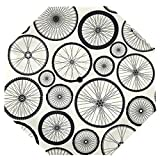 Cooper girl Bicycle Wheels Umbrella Sun Rain Travel Umbrella with UV Protection for Kids Girl Boys