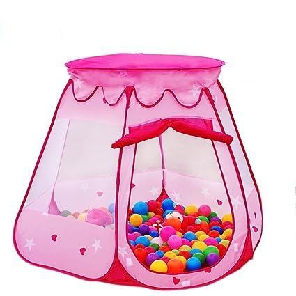 amazon com lepapillon pink princess tent indoor and outdoor 1 8