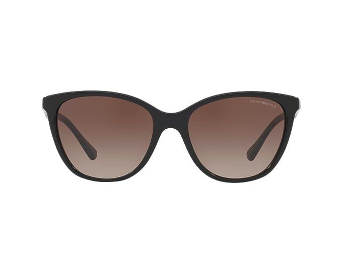 Emporio Armani 0ea4110 500113 55, Gafas de Sol para Mujer, Black
