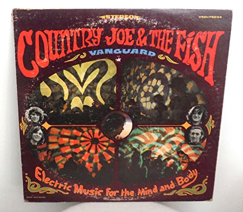 Price comparison product image Country Joe and The Fish - Electric Music For The Mind And Body,  blues,  mellodic